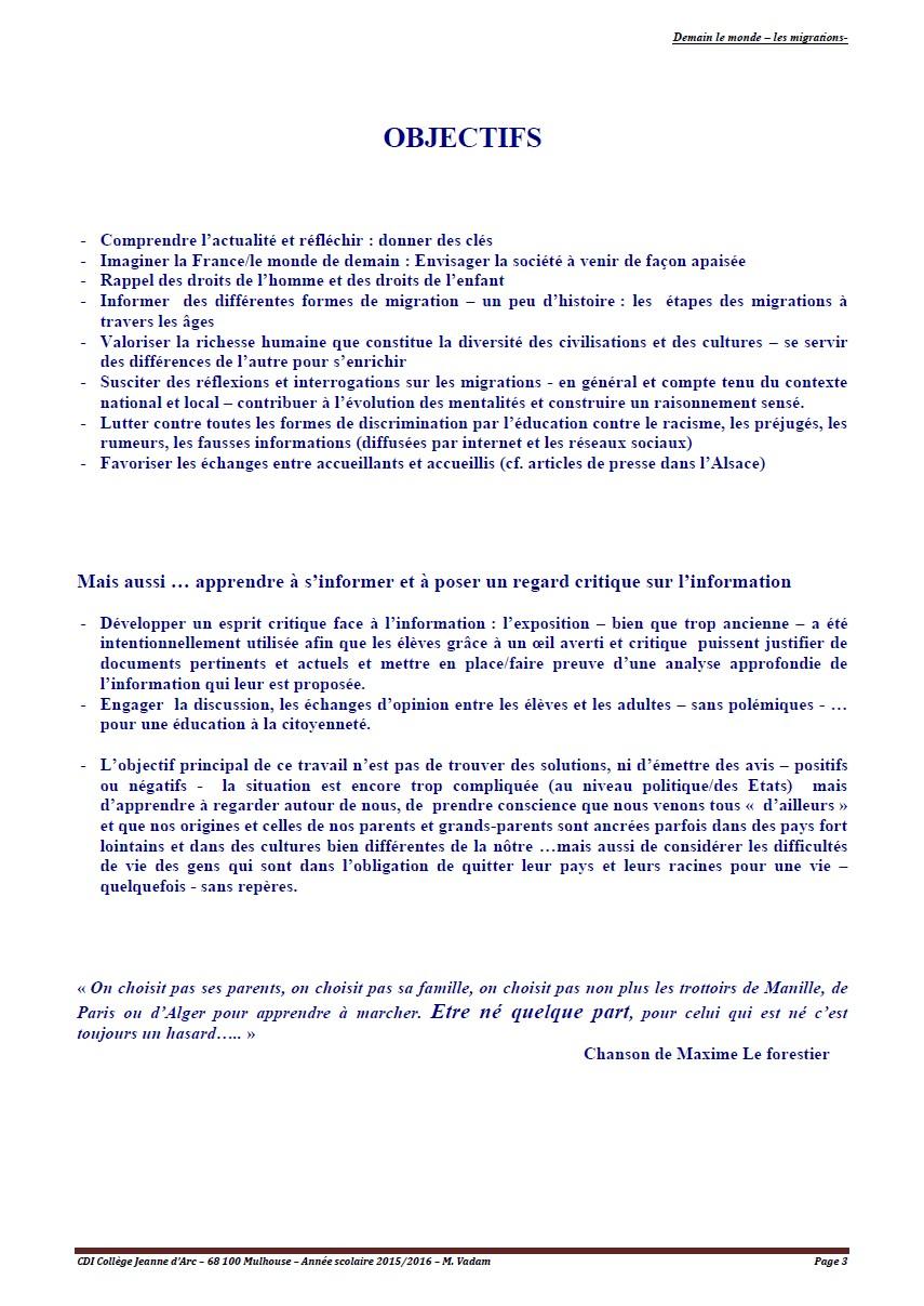 les migrations - page 3